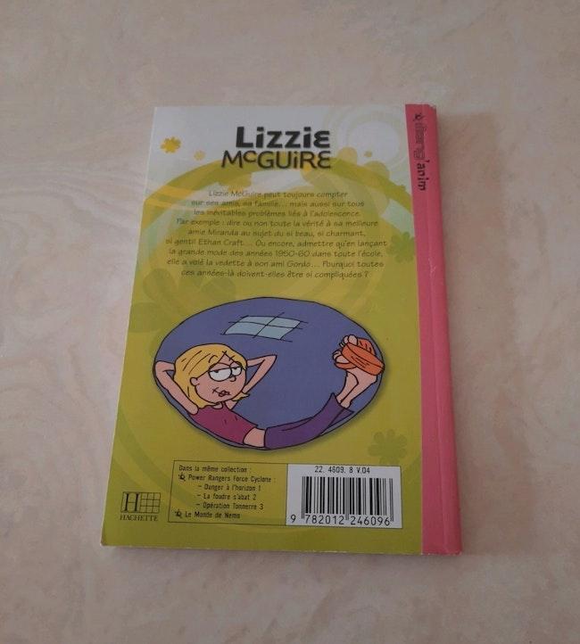 """Livre """"Lizzie Mc Guire"""""""