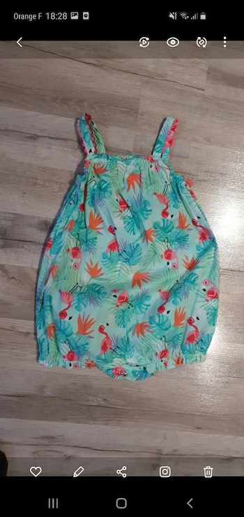 Barboteuse h&m fille