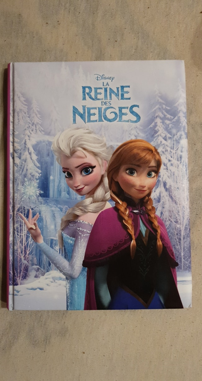 Livre reine des neiges