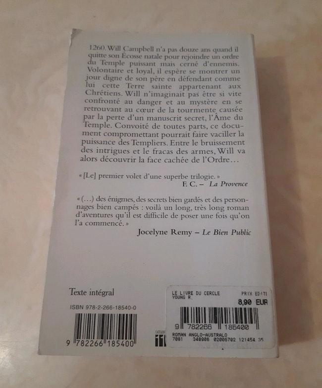 """Livre """"L'âme du temple"""""""