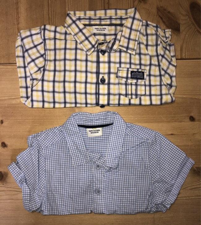 Lot chemises