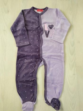 Pyjama Violet tissaia 24m