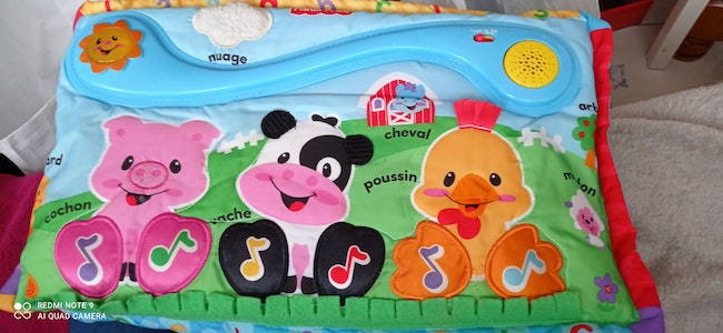 FISHER PRICE Tableau musical des animaux