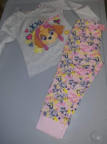 Pyjama pat Patrouille gris 8 ans