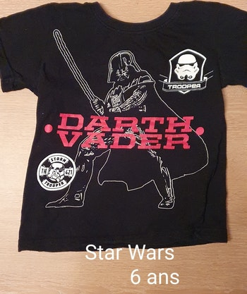 T-shirt Star Wars 6 ans