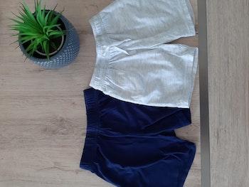 Lot 2 shorts légers coton