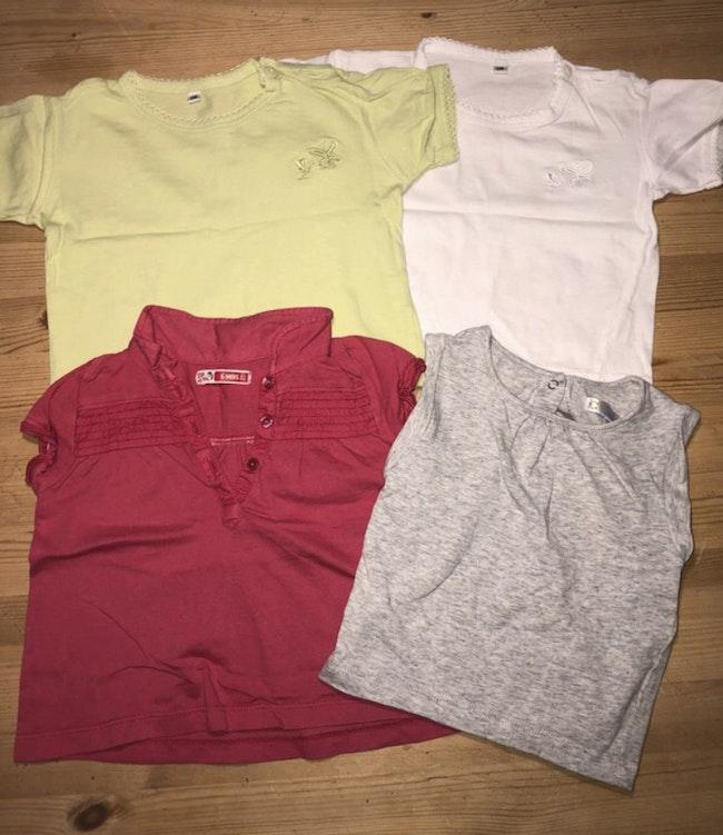 Lot tee-shirts