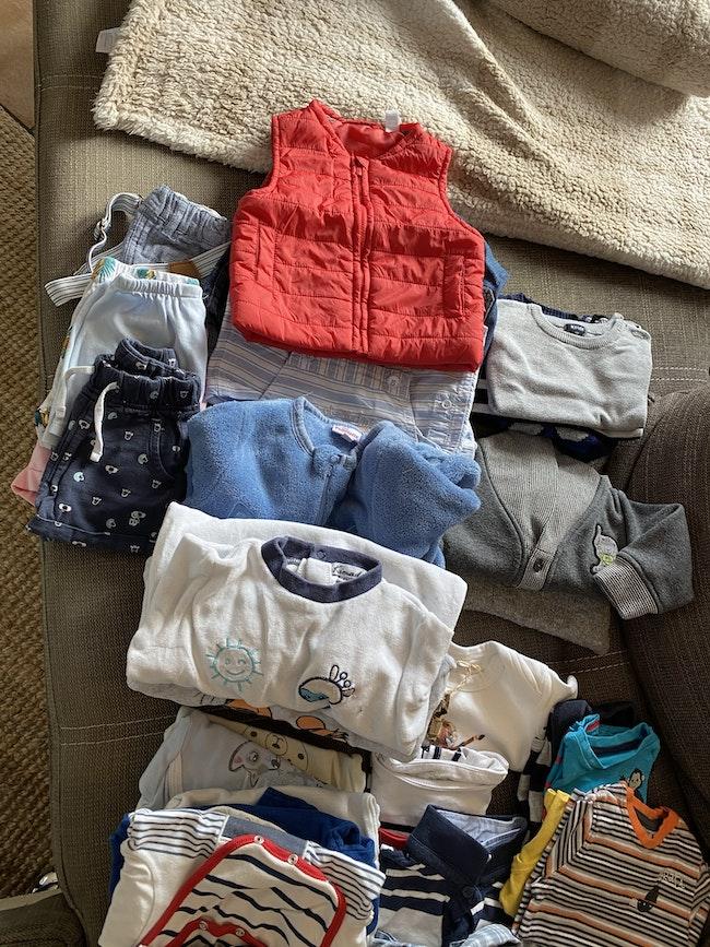 Vêtements bébé garçon 6 mois