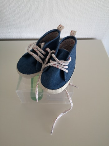 Baskets jeans 6-12 mois