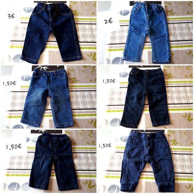 Pantalons 6 mois garçon