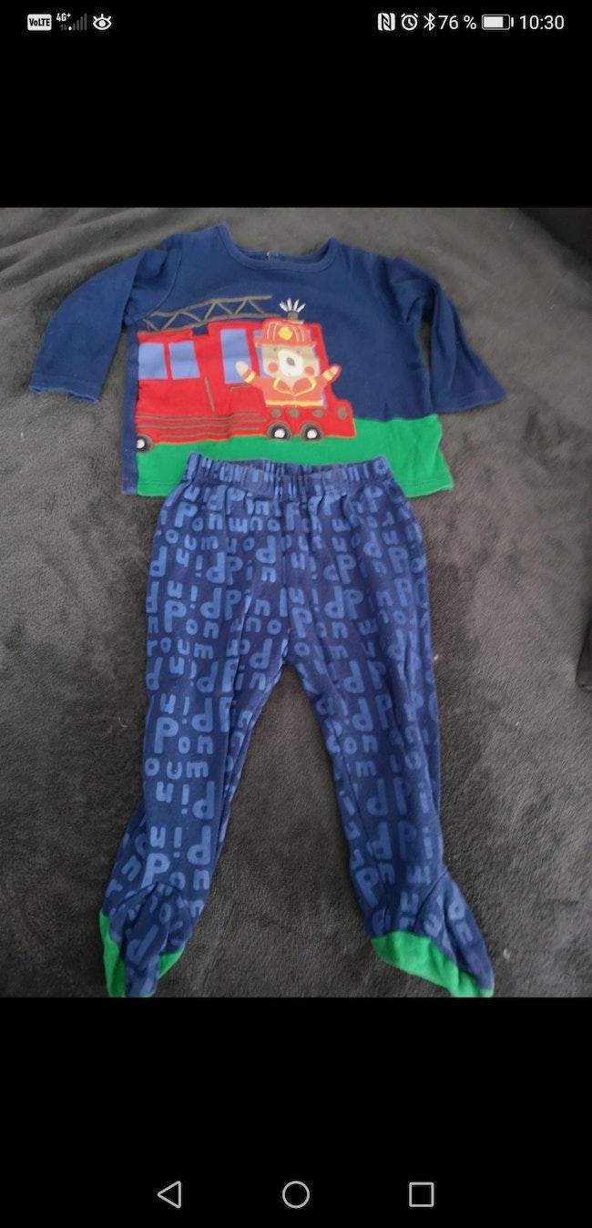 Pyjama 2 pièces 12 mois