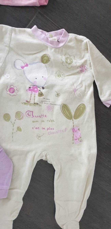 Lot 4 pyjama 6 mois