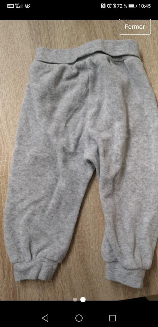 Pantalon pyjama polaire 9 mois