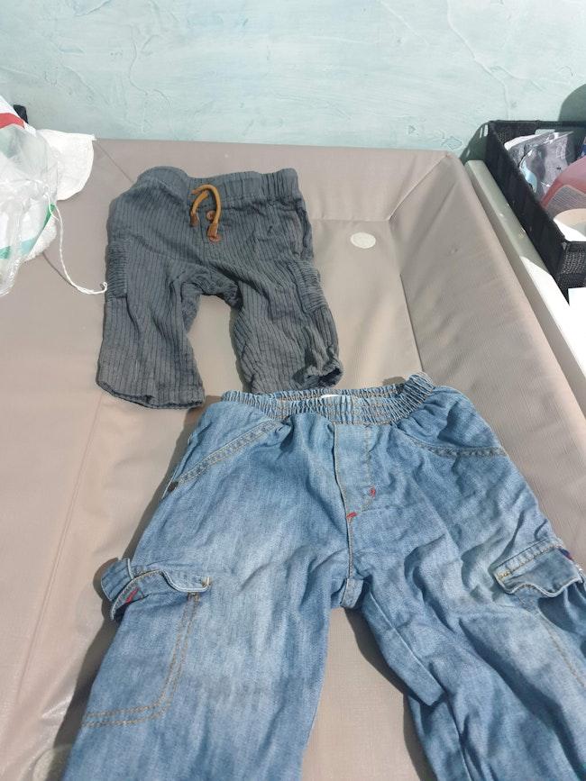 Lot de 2 pantalons 9Mois