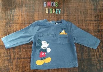 Tee-shirt Mickey 6 mois