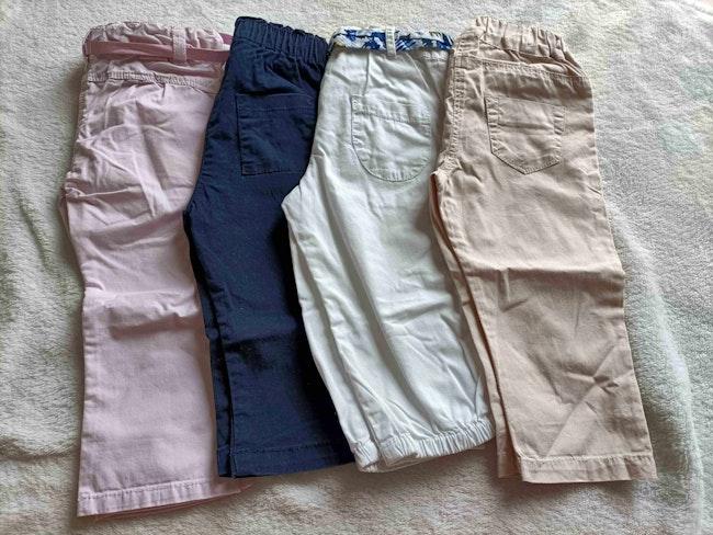 Lot 4 pantalons fin 9 mois