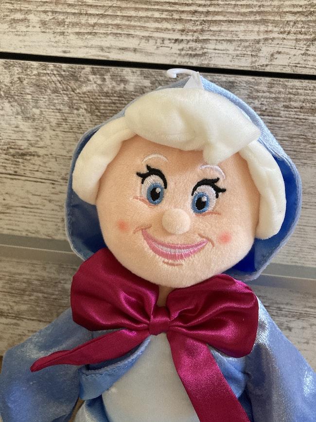 Peluche Marraine La Bonne Fée Cendrillon Disney Neuve