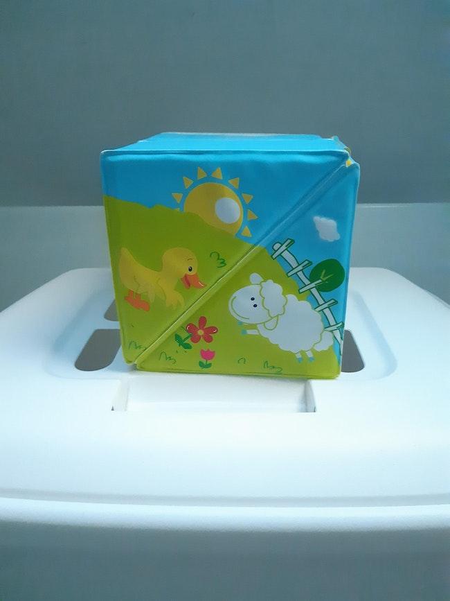 Cube bain