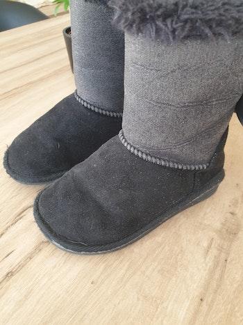 Boots fourrées taille 25