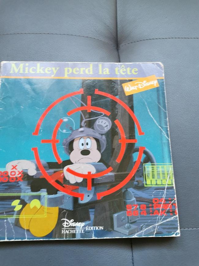 Livre Mickey perd la tête