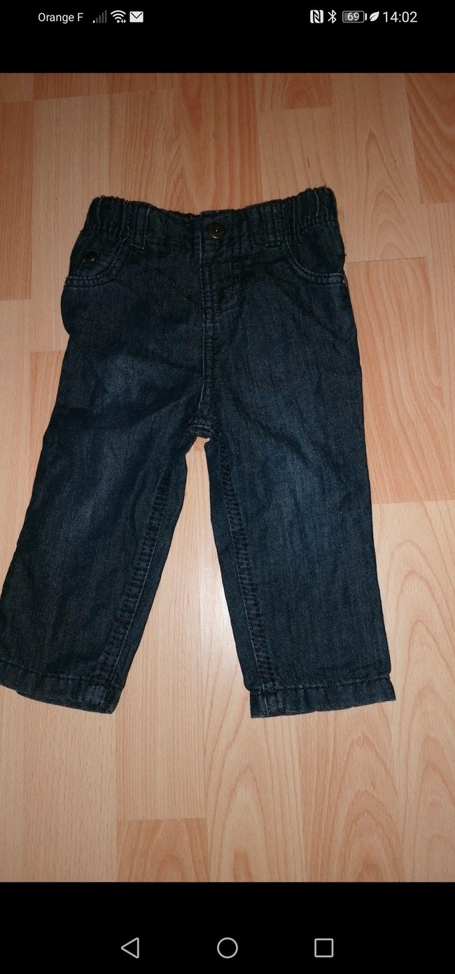 Jeans slim 12 mois