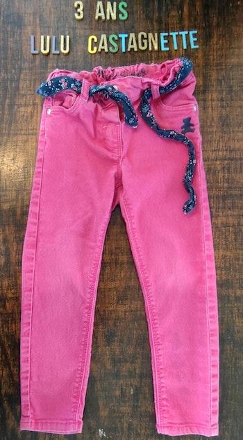 Pantalon rose 3ans