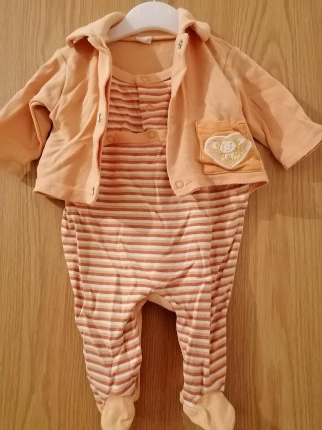 Pyjama mixte 1 mois
