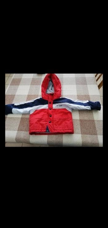 Manteau 9/12 mois imperméable rouge capuche amovible Zippy