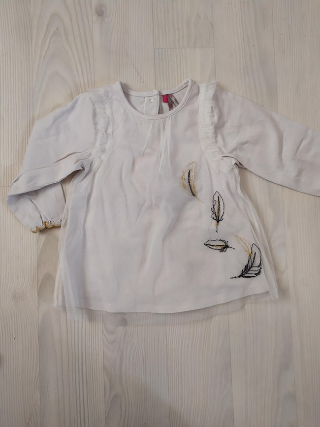 Blouse blanche orchestra 18m