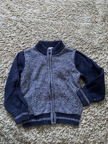 Gilet zippé - Tex baby - 3 ans