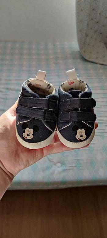 Baskets bébé Mickey 3-6 mois