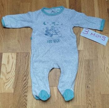 Pyjama winnie garçon 3 mois