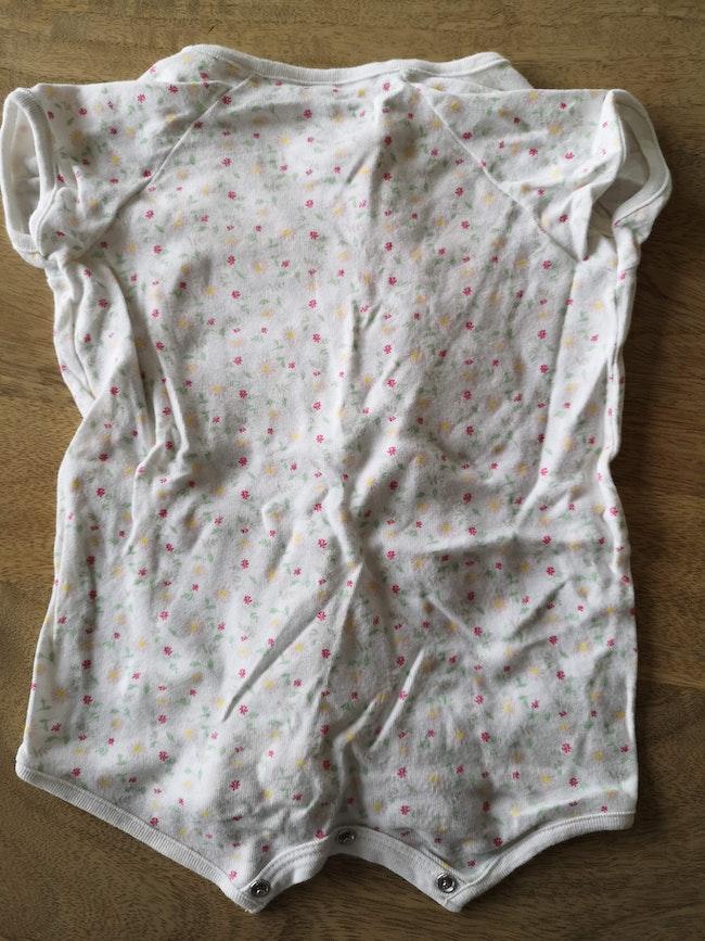 Combicourt bébé mixte en Côte, coton bio, Petit Bateau