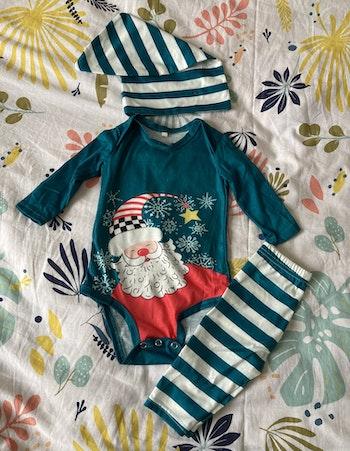 Ensemble pyjama de noël 6-9 mois