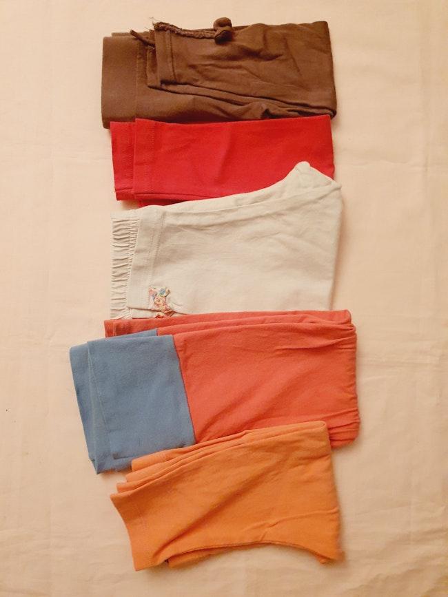 Lot de 5 leggings