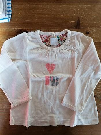 T-shirt Petit Bateau 18 mois TBe