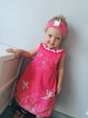 18 mois bébé fille #cathlaul18mois robe et bloomer dpam robe