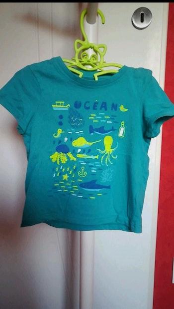 T-shirt bleu océan