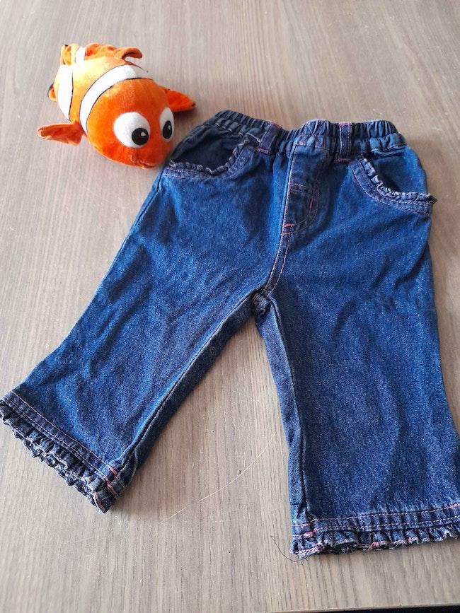 Jeans fille 6M