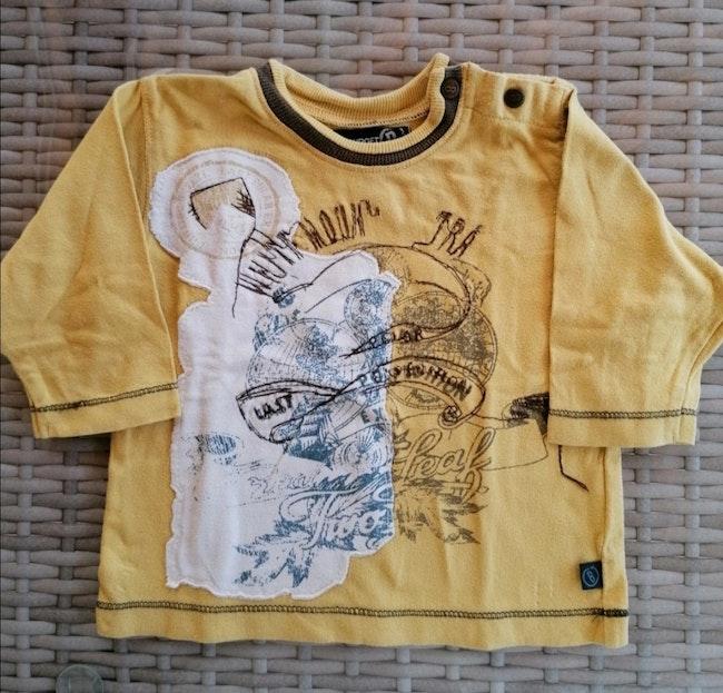 Lot de 2 pulls et 2 T-shirt garçon 6 mois