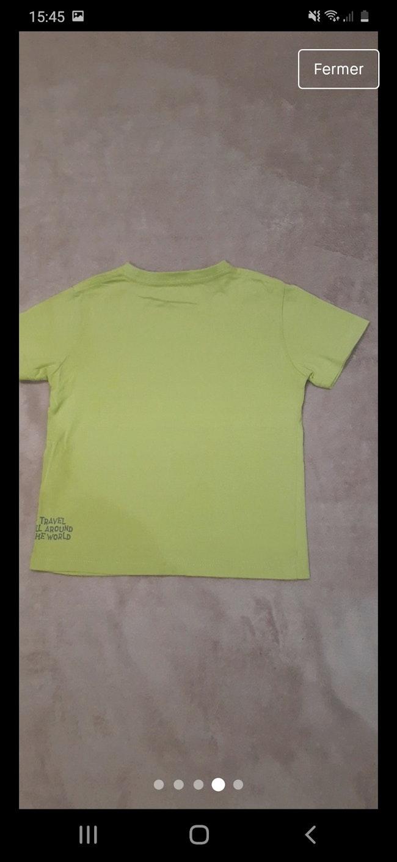Tee-shirt vertbaudet en 3 ans