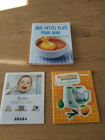 Livre mes petits plats pour bébé