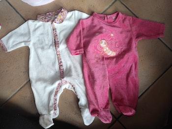 2 pyjama velours