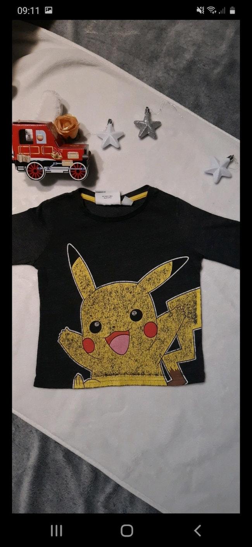 Tee-shirt manche longues pokemon 2 ans