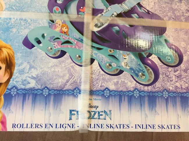 Rollers en ligne la reine des neiges