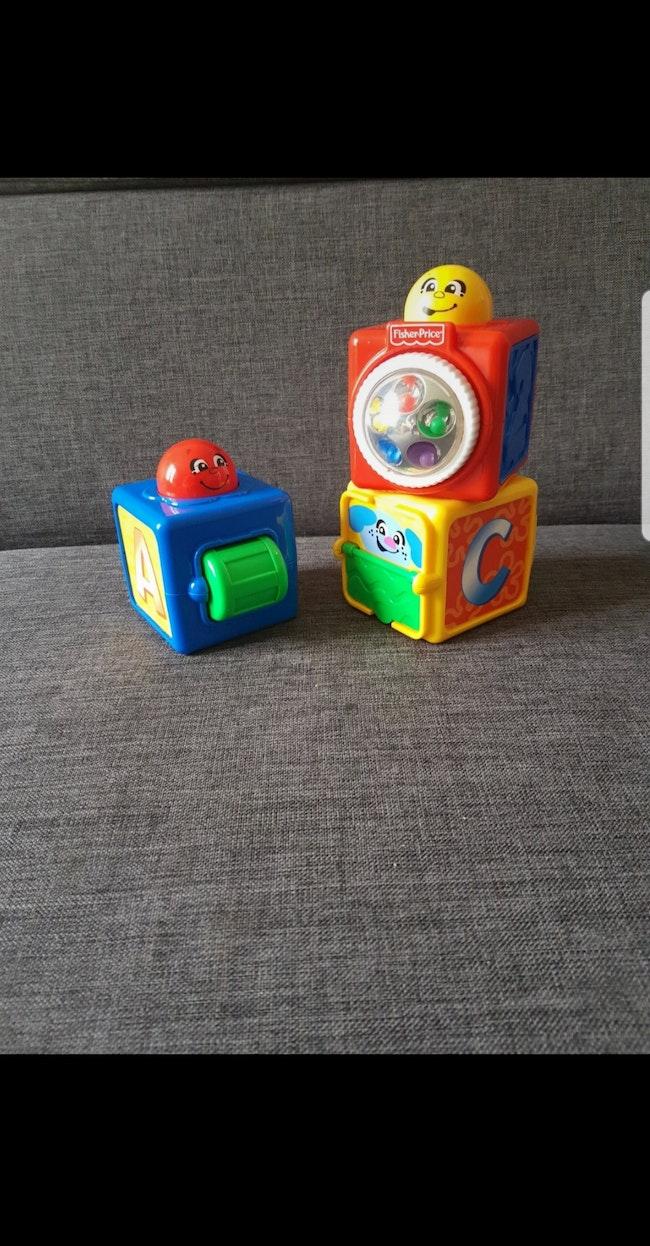 Cubes d'activités Fisher-Price