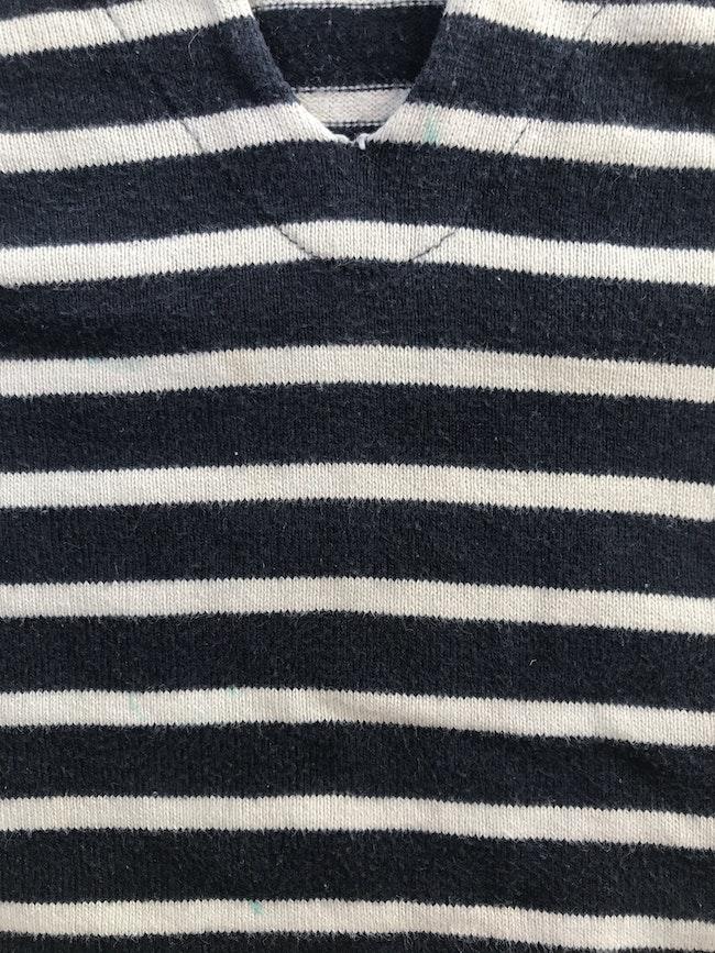 Joli pull marinière Petit Bateau