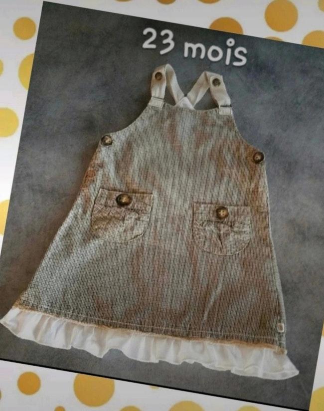 Robe hiver 18 mois jean Bourget