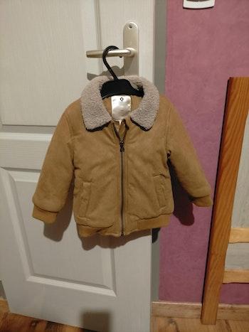 Manteau hiver col moumoute