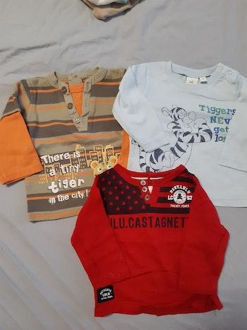 Lot de 3 tee-shirt manche longue